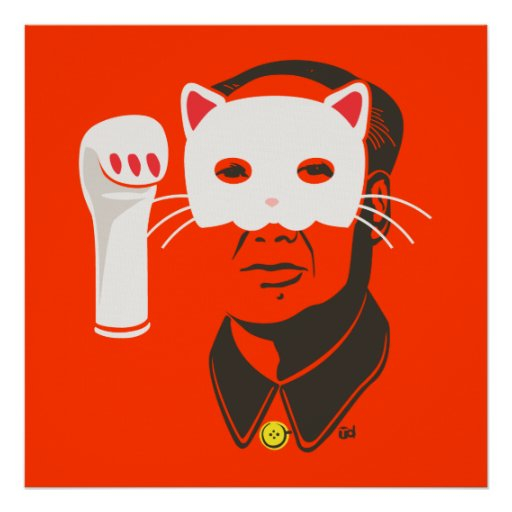 Chairman Meow Poster