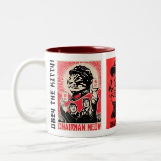 Chairman Meow Propaganda Coffee Mug mug