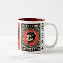 Chairman Meow Propaganda Coffee Mug