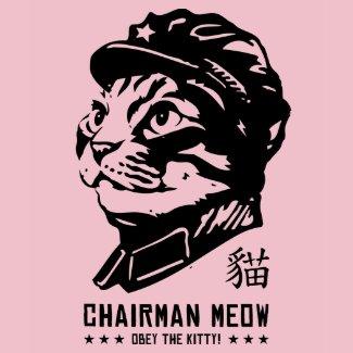 Chairman Meow shirt