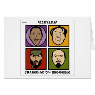 Chairman O and the Stinko Pinko Band Card
