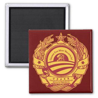 Chairman Obama's Presidential Soviet Seal Magnet