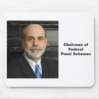 Chairman of Federal Ponzi Schemes Mouse Pad