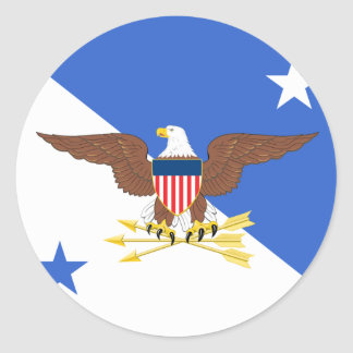 Chairman of the Joint Chiefs of Staff Classic Round Sticker