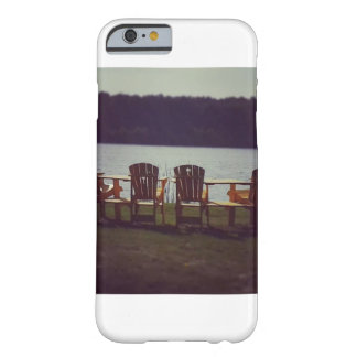 Chairs by the Lake Phone Case