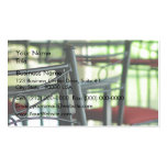 Chairs in abstract Double-Sided standard business cards (Pack of 100)