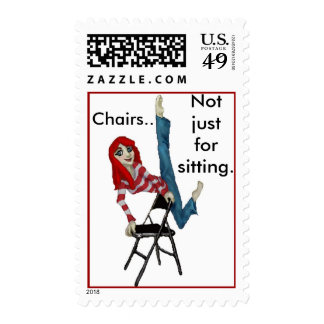 Chairs.. Postage Stamps