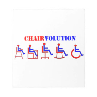 Chairvolution Blocs De Papel