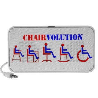 Chairvolution Notebook Altavoz