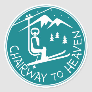 Chairway to Heaven Sticker