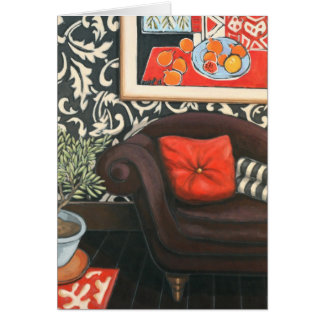 'Chaise Longue' Art Card