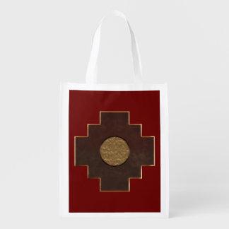 Chakana Cross Grocery Bag