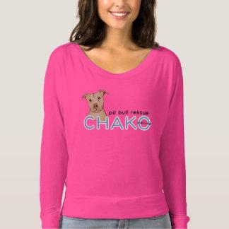 Chako women's neon pink shirt
