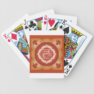 "Chakra 1 – 1st Chakra ""Root"" Muladhar Bicycle Card Deck"