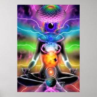 Chakra Activation Meditation Poster