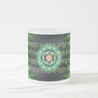 Chakra Anahata Taza Cristal Mate