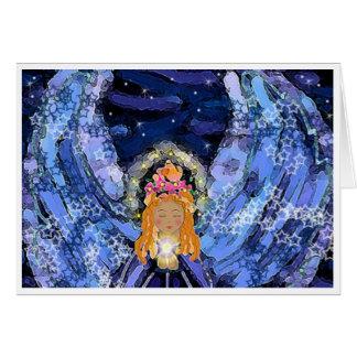 Chakra Angel Card - Blue Angel