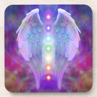 chakra, ángel, curador, curando de dios, ángeles, posavasos
