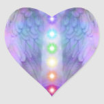 chakra,angel,healer,healing from god,angels,love, heart sticker