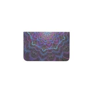 Chakra Blossom Boho New Age Spiritual Business Card Holder
