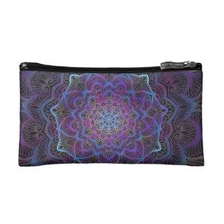 Chakra Blossom, boho, new age, spiritual Makeup Bag