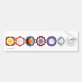 Chakra Bumper Sticker