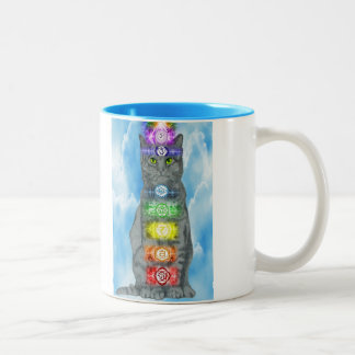 Chakra Cat Mug