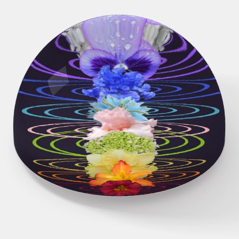 Chakra Chi Energy Flower Stalk Home Office Desk Paperweight