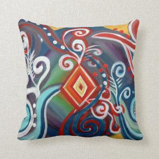 Chakra Dance Throw Pillow