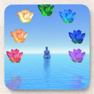 Chakra de la yogui por amor curativo posavaso