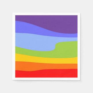 Chakra del diseño del modelo coloreado + sus ideas servilletas desechables
