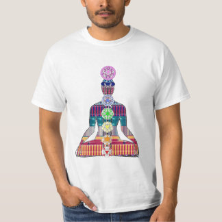 CHAKRA diagram Yoga Meditation Peace NVN630 FUN Shirts
