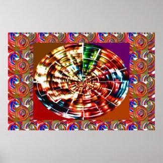 Chakra - Divine Weapon of Lord KRISHNA Poster