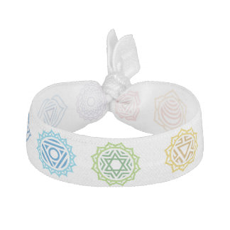 Chakra Energy Colors Hair Tie