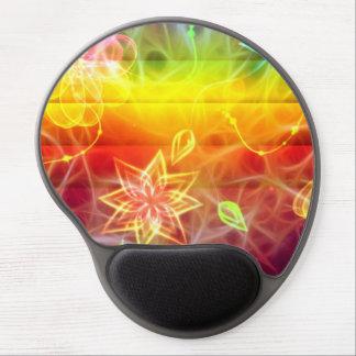 Chakra flower energy art by healing love gel mouse mats