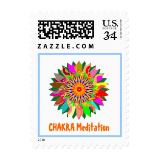 CHAKRA HEALAING MEDITATION STAMP