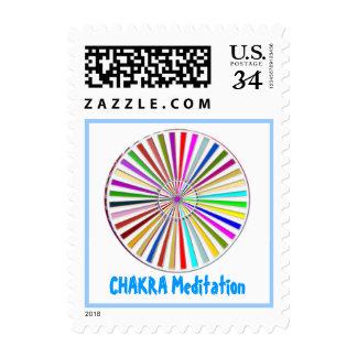 CHAKRA HEALAING MEDITATION POSTAGE