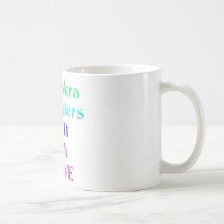 Chakra Healers Do It With Love in Rainbow Colors Coffee Mug