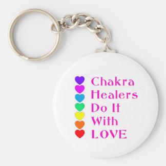 Chakra Healers Do It With Love Keychain