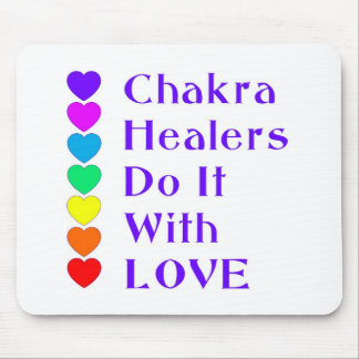 Chakra Healers Do It With Love Mouse Pad