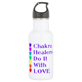 Chakra Healers Do It With Love Water Bottle