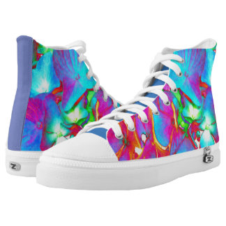 Chakra Hydrangea High-Top Sneakers