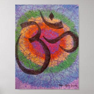 Chakra inspiró a OM Poster