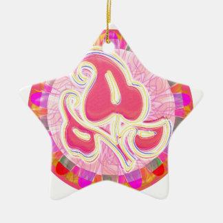 CHAKRA Jewel Wheel Round Colorful Goodluck Decor Christmas Tree Ornaments