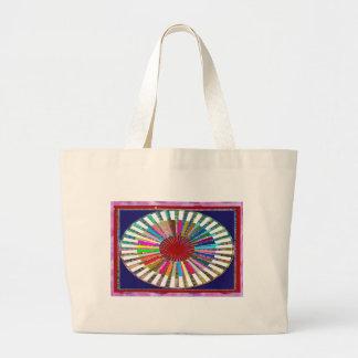 CHAKRA Light Source Meditation Tote Bags