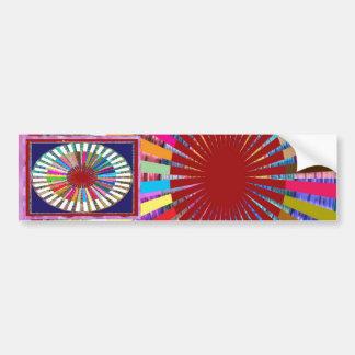 CHAKRA Light Source Meditation Car Bumper Sticker