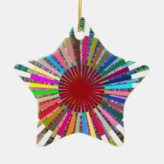 CHAKRA Light Source Meditation Ceramic Ornament