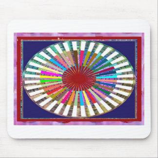 CHAKRA Light Source Meditation Mouse Pad