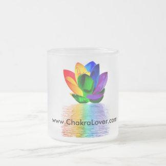 Chakra Lover mug Rainbow Lotus