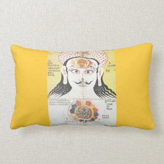 Chakra lumbar pillow
